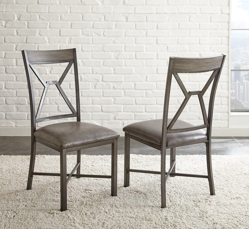 Alamo Gray PU Side Chair. $81.99. AL450T. Alamo Round Dining Table