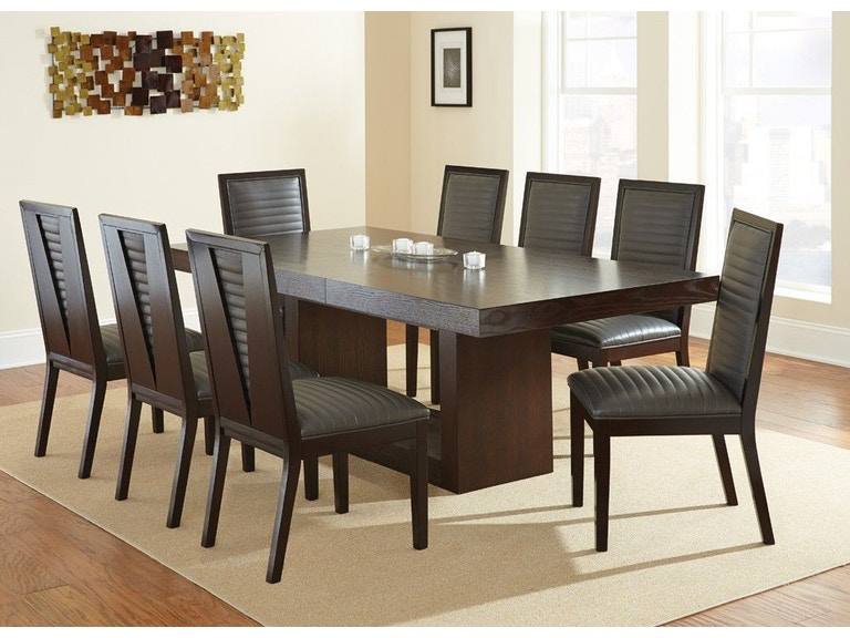 Steve Silver Dining Room Antonio Table Base AT500BN At Hennen Furniture