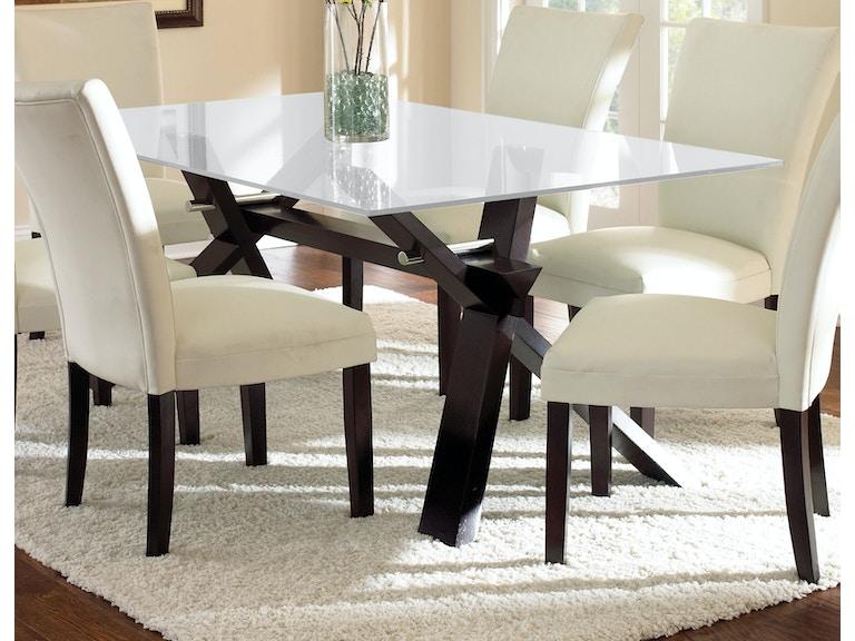 steve silver dining room berkley dining table base be500bn carol house furniture maryland. Black Bedroom Furniture Sets. Home Design Ideas