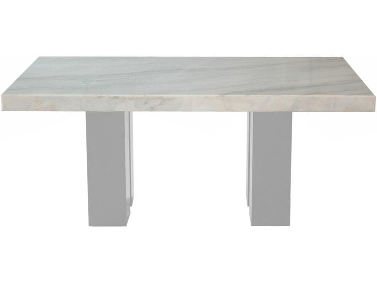 Steve Silver Dining Room Camila Rectangle Table Top CM420WT - Hennen