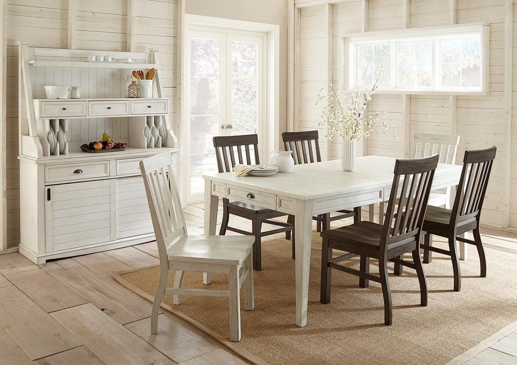 Steve Silver Cayla Table, White CY400TW