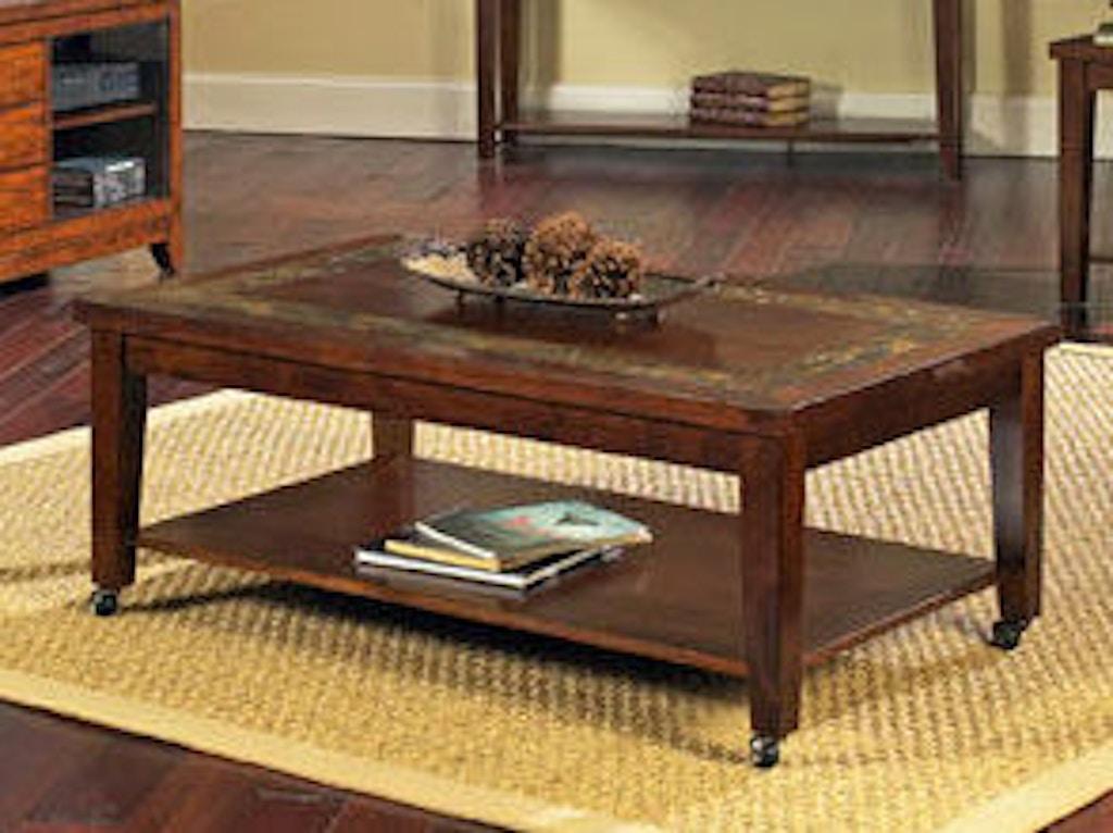 Strange Steve Silver Living Room Davenport Slate Cocktail Table W Customarchery Wood Chair Design Ideas Customarcherynet