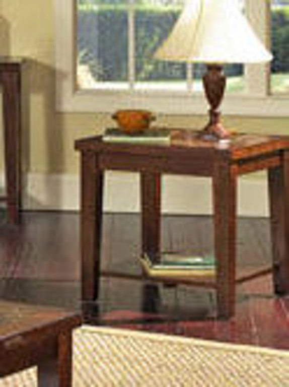Outstanding Steve Silver Living Room Davenport Slate End Table Da150E Customarchery Wood Chair Design Ideas Customarcherynet