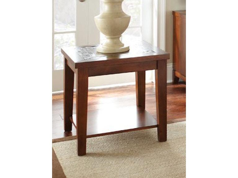 Admirable Steve Silver Living Room Davenport Chairside End Table Customarchery Wood Chair Design Ideas Customarcherynet