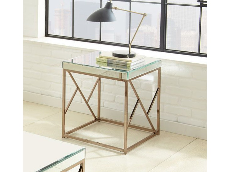 Steve Silver Living Room Evelyn End Table Ev200e Short Furniture