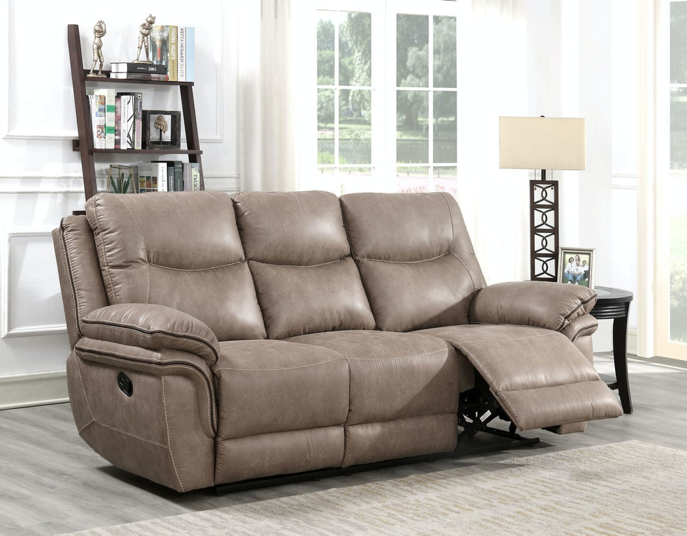 Incredible Steve Silver Living Room Isabella Recliner Sofa Sand Gamerscity Chair Design For Home Gamerscityorg