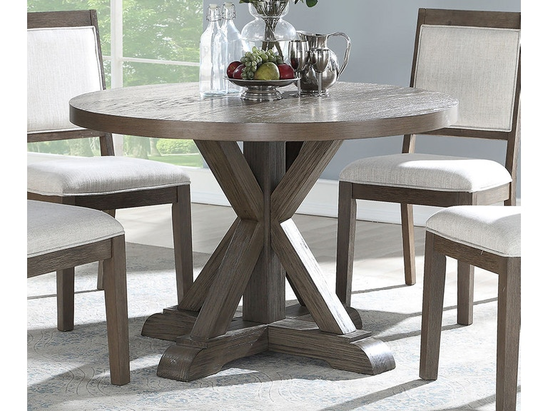 Steve Silver Dining Room Molly Round Dining Table My4848t Kaplans