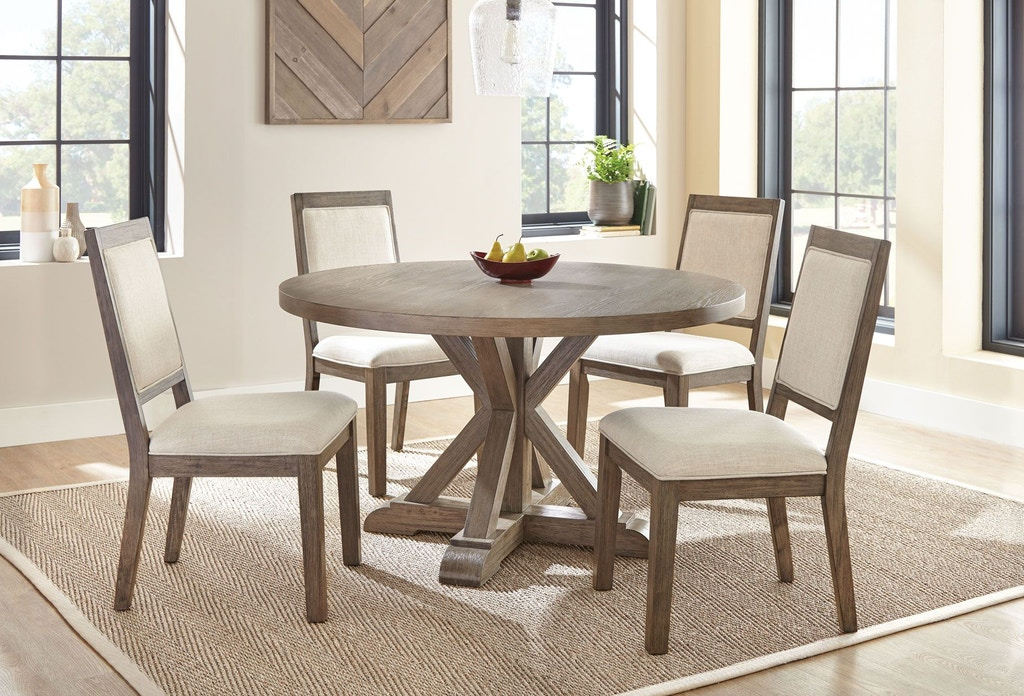 Steve Silver Dining Room Molly Round Dining Table MY5454T ...