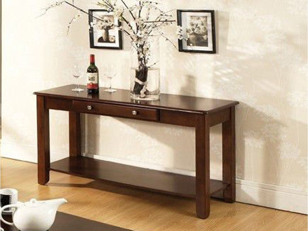 Steve silver living room nelson sofa table cherry nl300sc at great deals on furniture