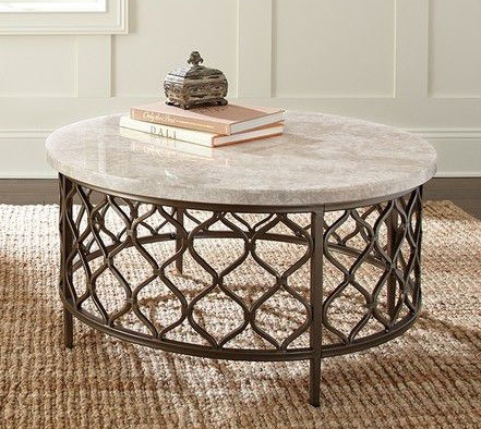 Steve Silver Roland Stone Top Cocktail Table RL100CT