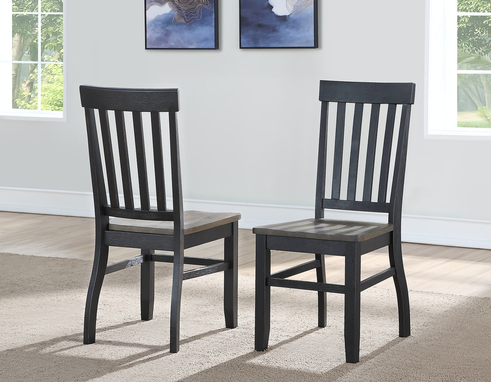 Steve Silver Dining Room Raven Noir Side Chair Rn500s