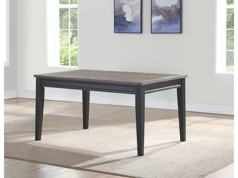 Steve Silver Dining Room Raven Noir Table Rn500t At High Point Furniture