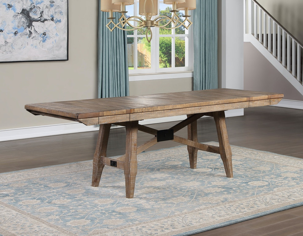 Steve Silver Dining Room Riverdale Dining Table Base Rv500tb Carol House Furniture Maryland