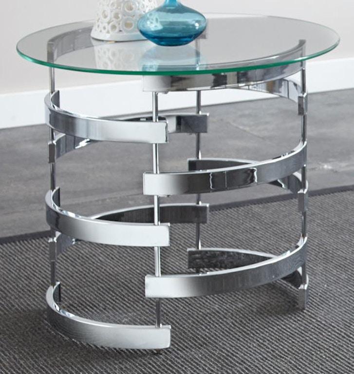 steve silver living room tayside end table base ts300eb