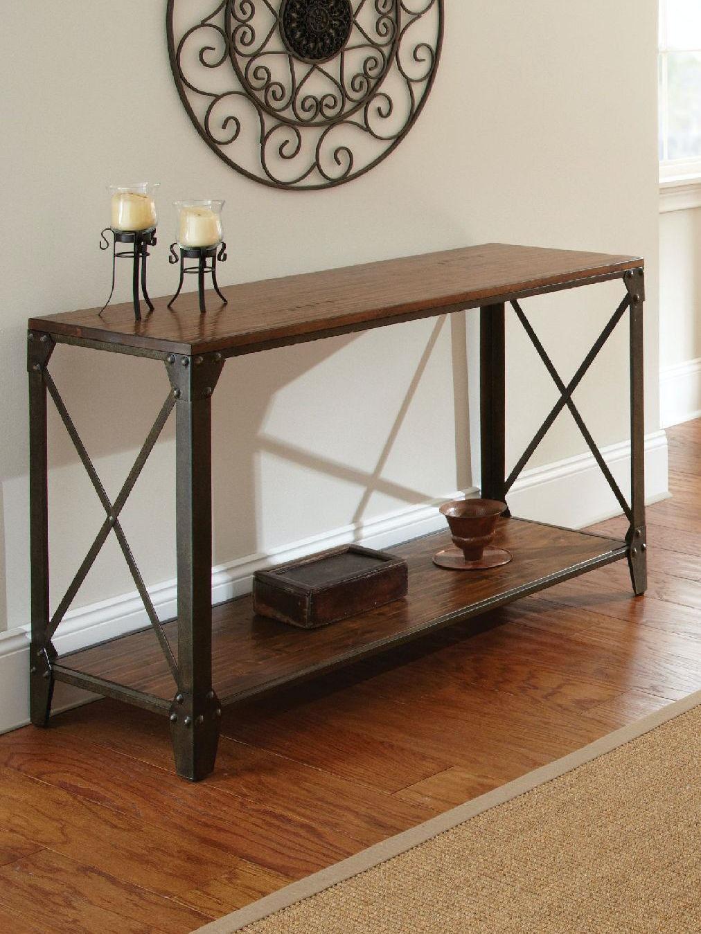 Steve Silver Living Room Winston Sofa Table Wn400s Carol House