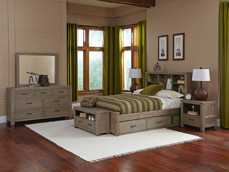 Hillsdale Kids and Teen Youth Highlands Full Bookcase Bed ...