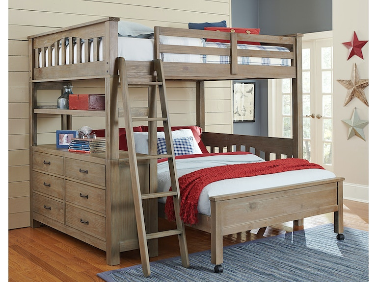 Astonishing Hillsdale Kids And Teen Youth Highlands Full Loft Bed With Camellatalisay Diy Chair Ideas Camellatalisaycom