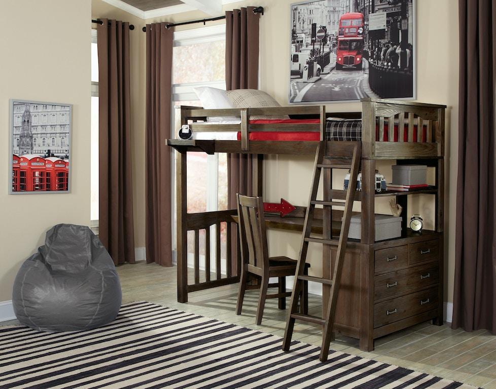 Strange Highlands Twin Loft Bed With Desk Home Interior And Landscaping Ponolsignezvosmurscom