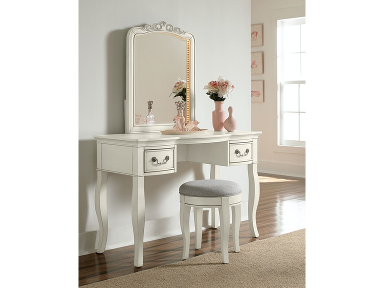 Hillsdale Kids and Teen Youth Kensington Writing Desk With Vanity ...