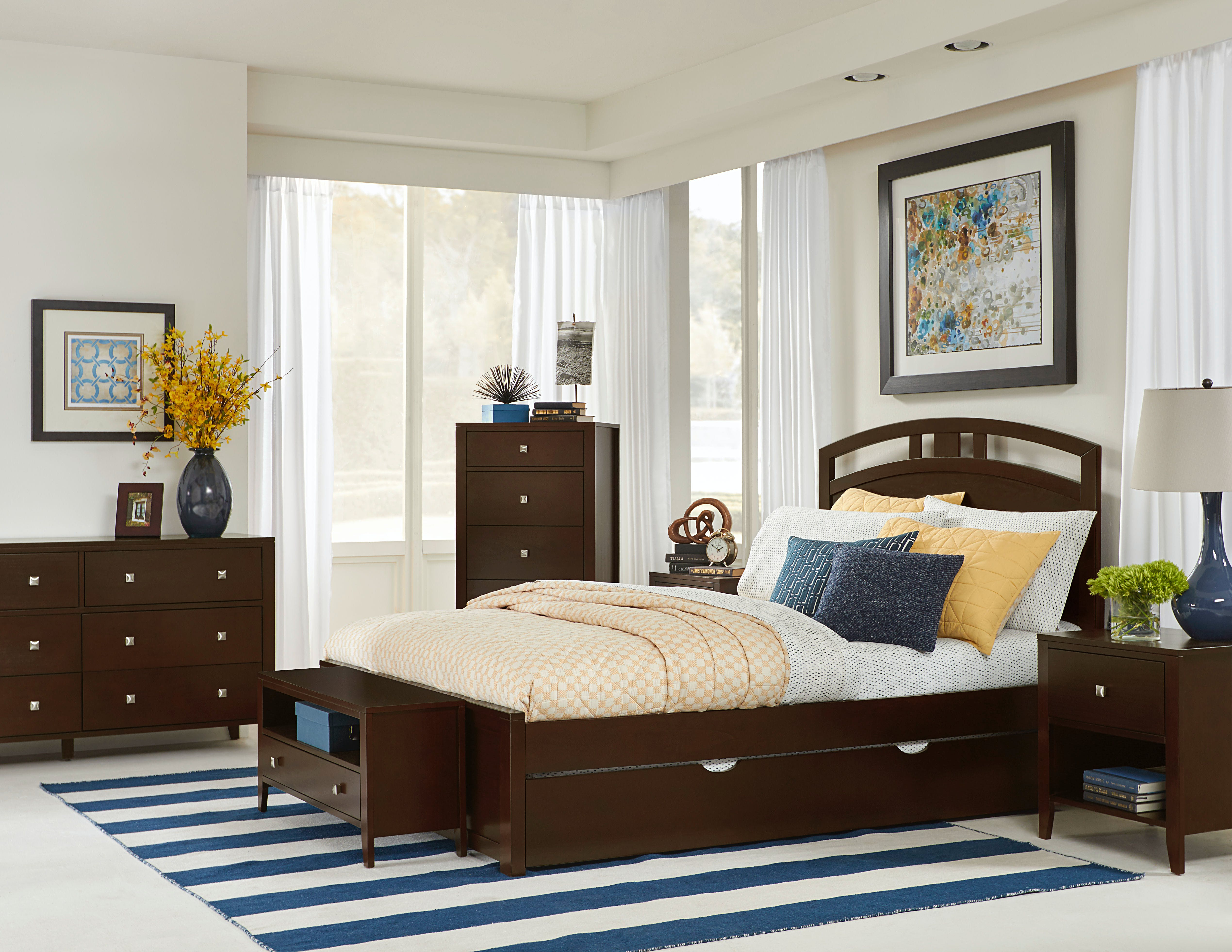 Picture of: Hillsdale Kids And Teen Youth Pulse Queen Arch Bed With Trundle 32023nt Aminis
