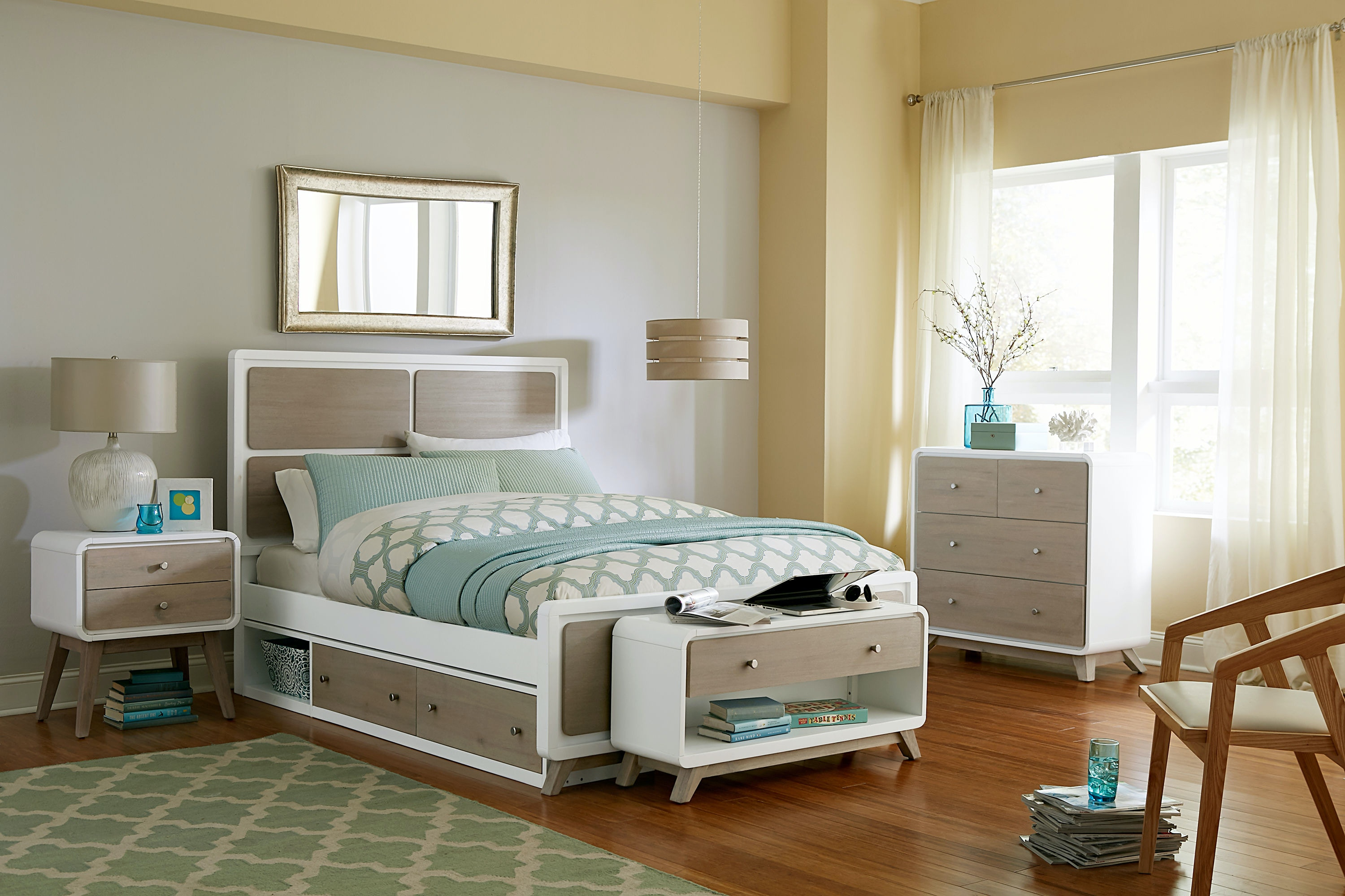 Hillsdale Kids And Teen East End Panel Full Bed W. Storage 7100 460NS
