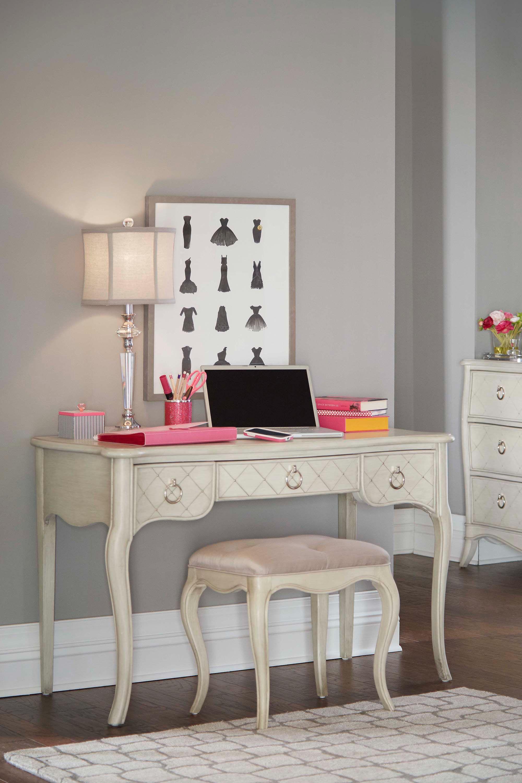 Merveilleux Hillsdale Kids And Teen Angela Desk With Bench 7107 778NDB