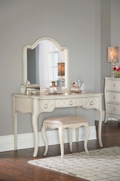 Hillsdale Kids and Teen Youth Angela Desk With Arc Lighted ...
