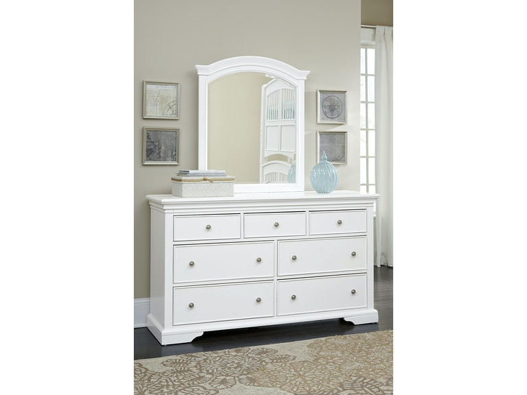 Hillsdale Kids And Teen Youth Walnut Street 7 Drawer Dresser With