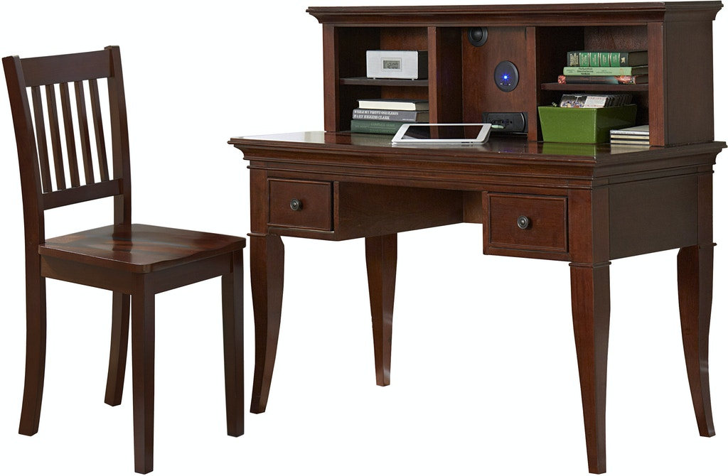Super Hillsdale Kids And Teen Youth Walnut Street Desk With Hutch Uwap Interior Chair Design Uwaporg