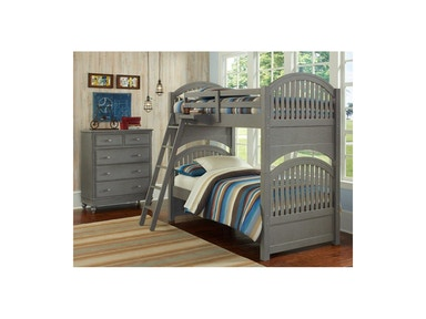 Hillsdale Kids and Teen Adrian Twin-Twin Bunk Bed 2031