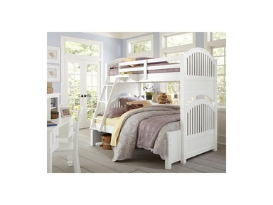 Hillsdale Kids and Teen Adrian Twin-Full Bunk Bed 1035
