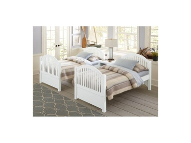 Hillsdale Kids and Teen Adrian White Twin Bed 1030
