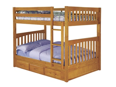 Hillsdale Kids and Teen Honey Full - Full Mission Bunk 2115
