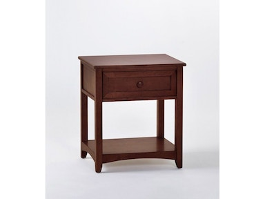 Hillsdale Kids and Teen Schoolhouse Chocolate Nightstand 5530