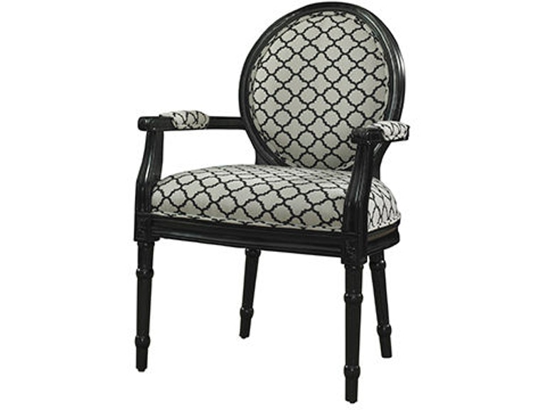 Powell Furniture Living Room Black Link Ghost Chair 110-965
