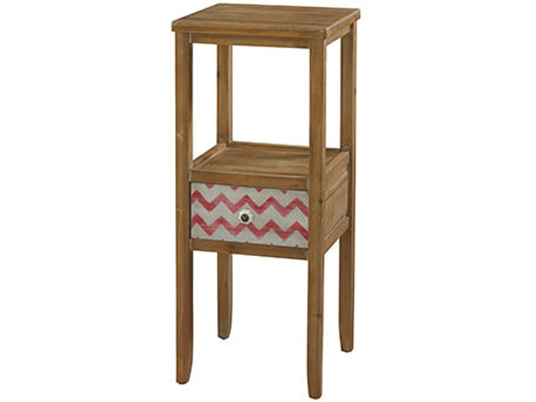 Powell Furniture Living Room Squiggly Dee Accent Table 111 269