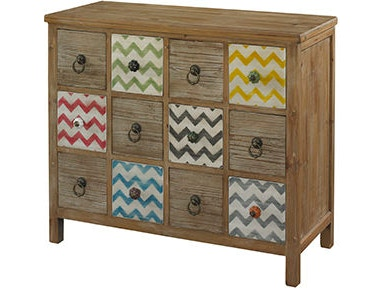 Powell Furniture Squiggly-Dee 12 Drawer Console 111-309