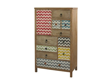 Powell Furniture Squiggly-Dee High Chest 111-394
