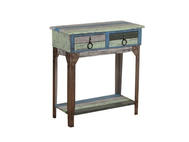 Powell Furniture Calypso Small Hall Console 114-534