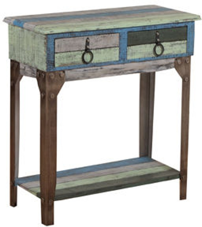 Powell Furniture Living Room Calypso Small Hall Console 114 534