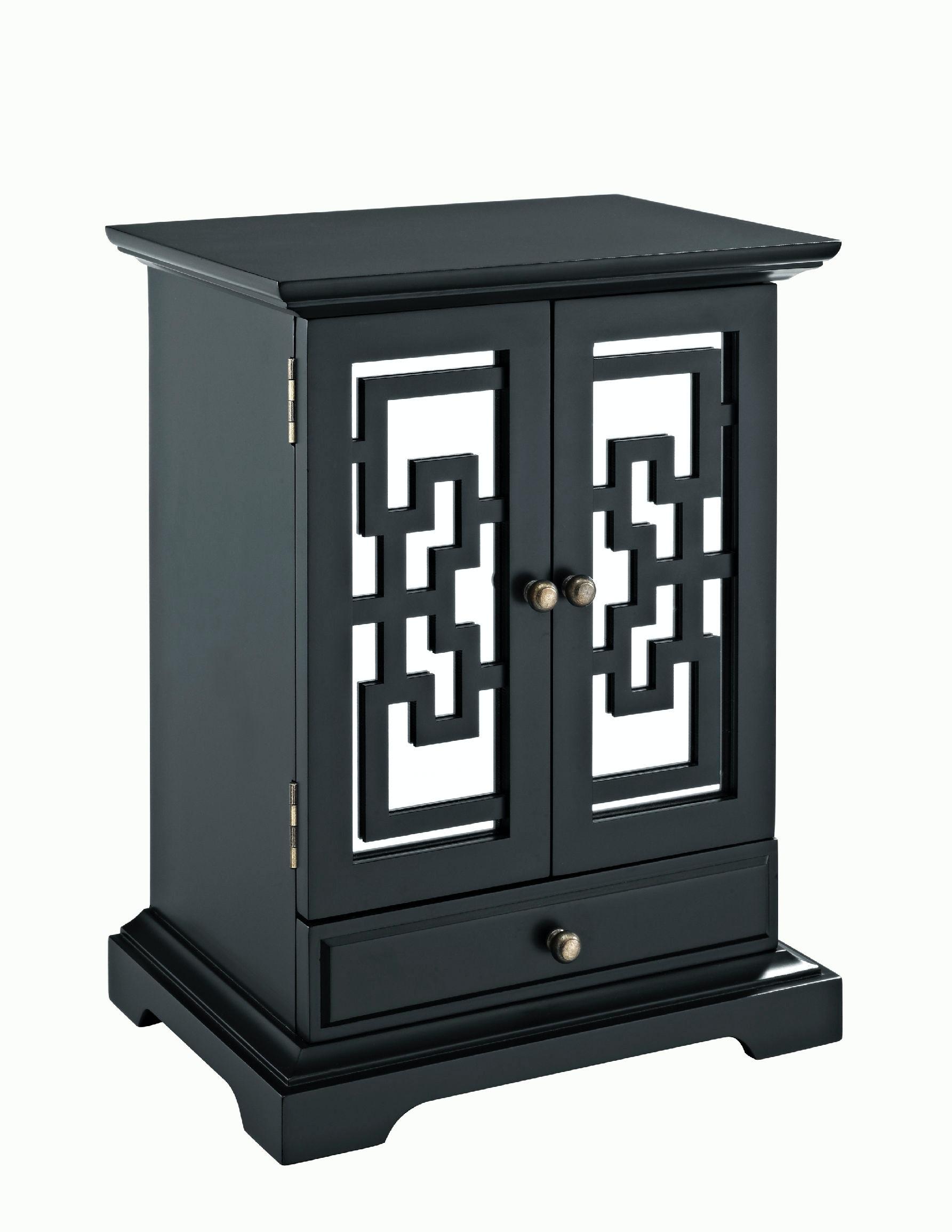 Powell Furniture Larissa 2 Door Jewelry Box 126 J112