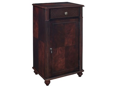 Powell Furniture South Seas Wine Storage Cabinet 129-512