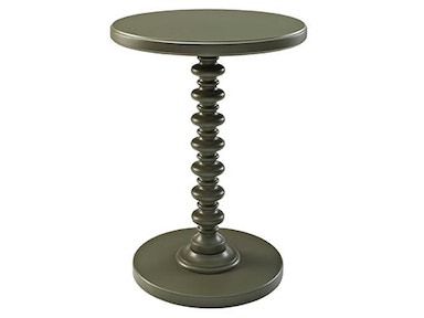 Powell Furniture Grey Round Spindle Table 141-269