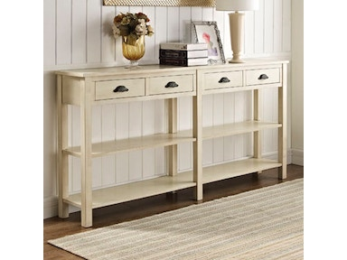 Powell Furniture Cream Console 149-534