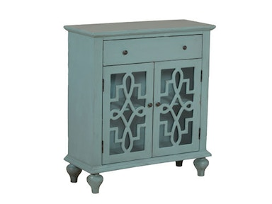 Powell Furniture Blue Fretwork Console 14A8016BL