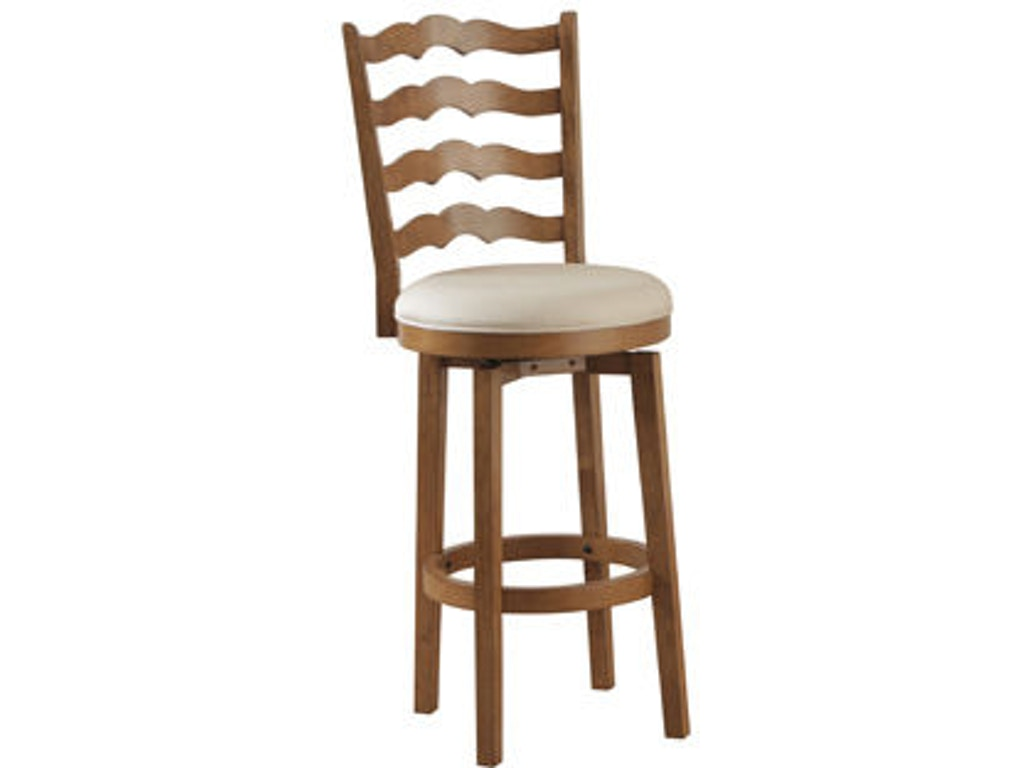 Powell Furniture Bar And Game Room Big And Tall Ladderback Barstools 14b7004bs Russell 39 S Fine