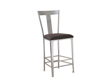 Powell Furniture Metal Contemporary Barstool 14B8046BS
