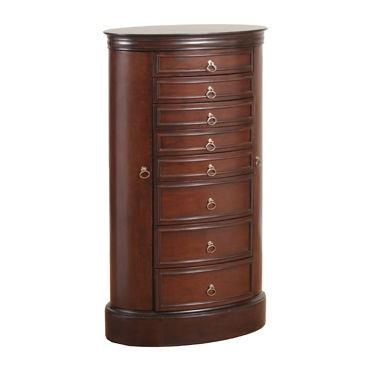 Powell Furniture Oval Jewelry Armoire 14J8032