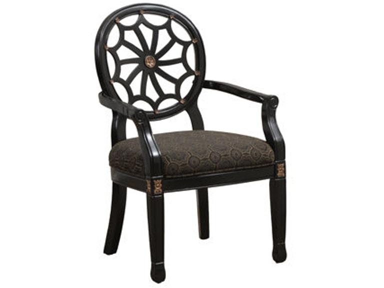 Fantastic Powell Furniture Living Room Black Spider Back Chair 14S8025 Forskolin Free Trial Chair Design Images Forskolin Free Trialorg
