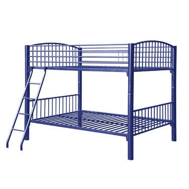 Picture of: Powell Furniture Youth Full Blue Econo Bunk Bed 150 137 Carol House Furniture Maryland Heights